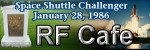 Space Shuttle Challenger Exploded - Please click here to visit RF Cafe.