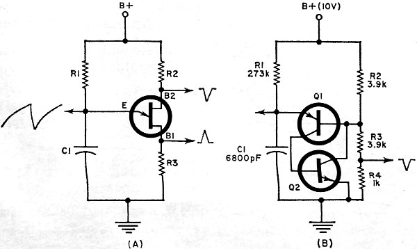 using transistors as negative