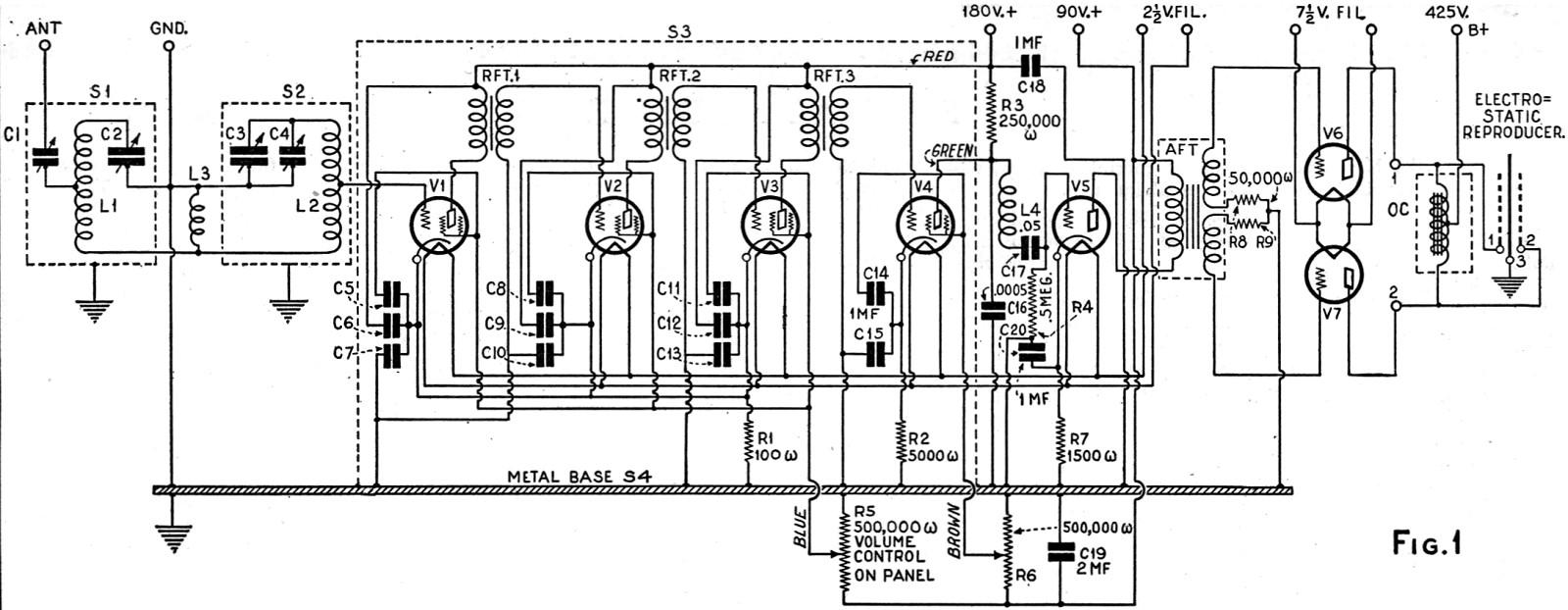 building a 1930 electric receiver  november 1929  radio