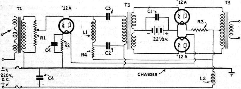 push-push power amplifiers  january 1932 radio-craft
