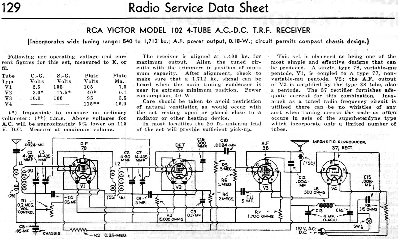 100+ Rca Victor Radios Schematics Specs – yasminroohi