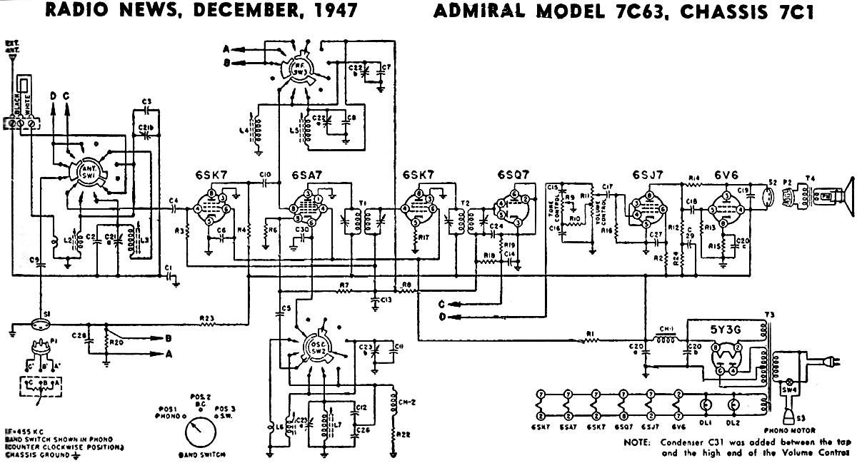 Admiral Model Aed4475Tq1 Parts   Peatix   Admiral Aed4475tq1 Schematic      Peatix